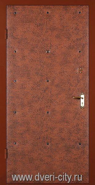 входные двери с отделкой винилискожей