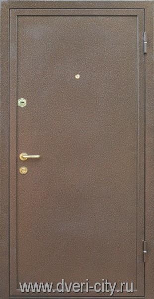 металлические двери с порошковым покрытие